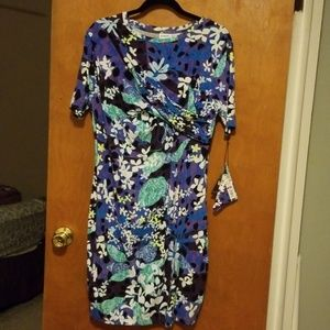 Peter Pilotto Purple Floral Dress XL